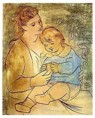 Picasso- Mother and Child