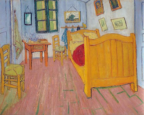 MyStudios- Vincent Van Gogh, The Bedroom