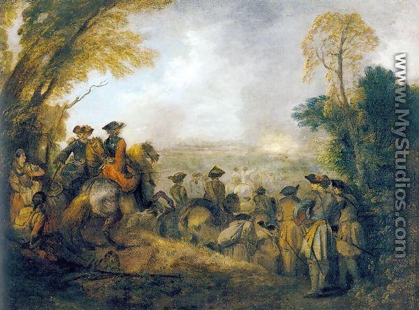On the March 1710 - Jean-Antoine WatteauReturn From Cythera By Antoine Watteau