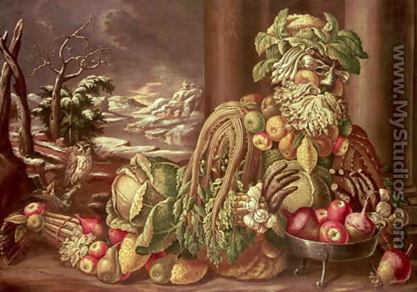 giuseppe arcimboldo winter 1573
