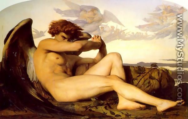 alexandre cabanel nymphe und satyr