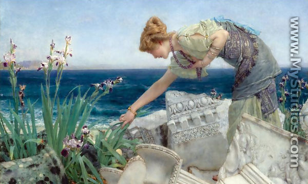 Among the Ruins - Sir Lawrence Alma-Tadema