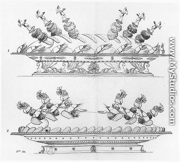 Designs for food decoration from 39 l 39 art de la cuisine for Cuisine francaise decoration
