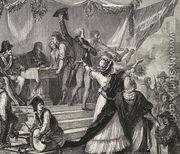 The Massacre In The Prisons In September 1792 By H De La Charlerie Mystudios Com