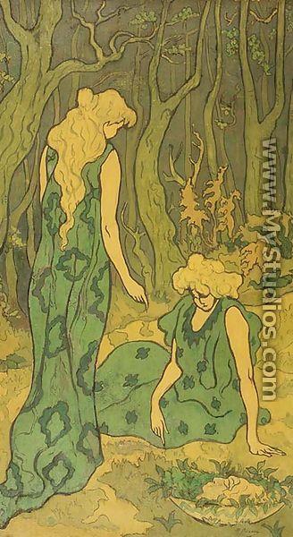 Women in the Wood, 1892 by Paul-Elie Ranson - MyStudios.com
