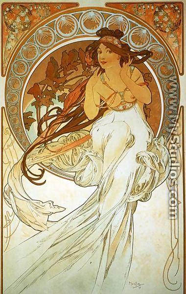 Donjon et Jardin » Alfons Mucha, maître de l\'Art Nouveau