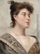 Woman · Woman, 1892 - Aleksandr Vladimirovich Makovsky - size3