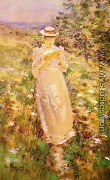 A Sweet Girl Graduate - Theodore Robinson