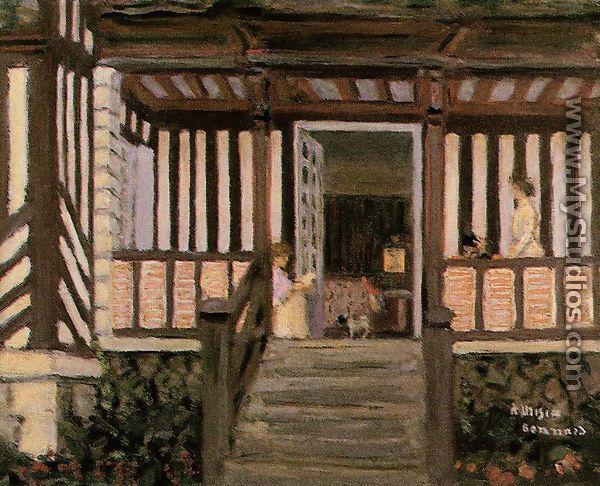 La casa de misia sert by pierre bonnard for Pierre bonnard la fenetre