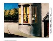 August in the City - Edward Hopper