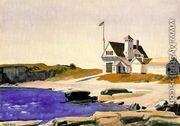 Coast Guard Station - Edward Hopper