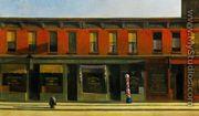 Early Sunday Morning - Edward Hopper