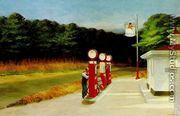 Gas - Edward Hopper