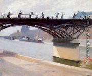 Le Pont des Arts - Edward Hopper