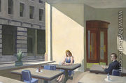 Sunlights in Cafeteria - Edward Hopper