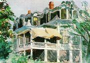 The Manshard Roof - Edward Hopper