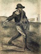 A Sower (after Millet) - Vincent Van Gogh