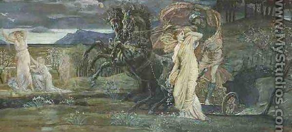 Neptune'-s Horses 1892 Walter Crane 1845-1915 English England ...