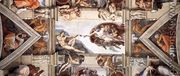 Ceiling of the Sistine Chapel [detail] I - Michelangelo Buonarroti