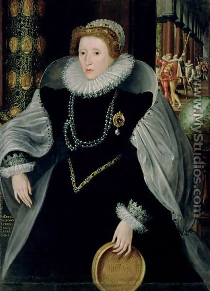 queen elizabeth 1 portrait. Portrait of Queen Elizabeth I