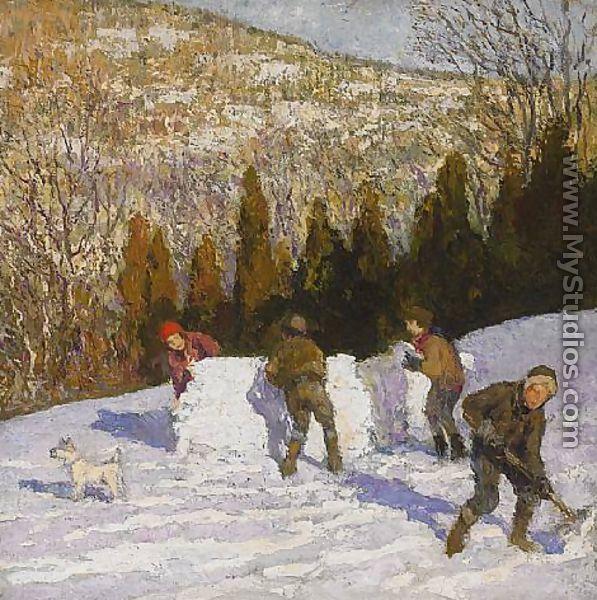 Oil Painting Artist John Jennings
