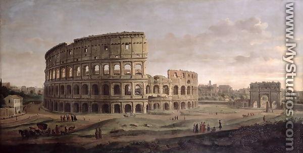 The Piazzetta from the Bacino di San Marco Art Oil Caspar Andriaans van Wittel