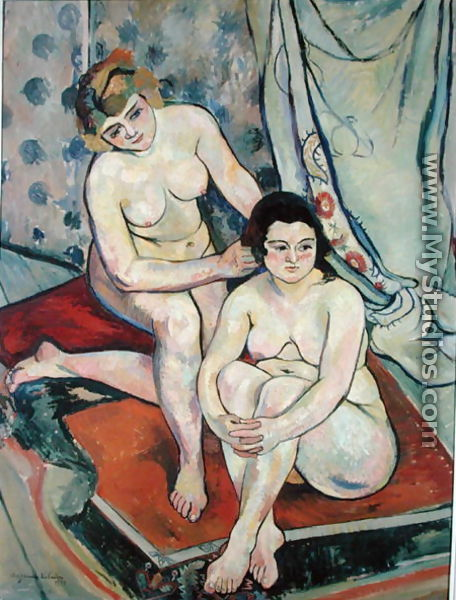 The Two Bathers, 1923 - Suzanne Valadon