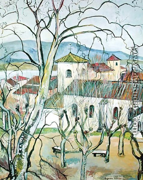 The Village of Saint-Bernard, Ain, 1929 - Suzanne Valadon