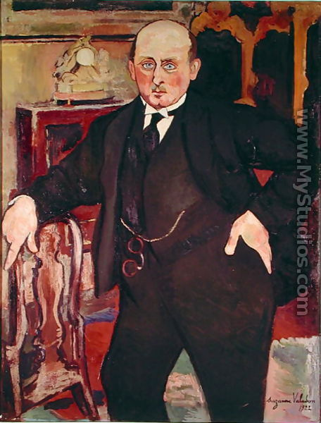 Portrait of Monsieur Mori, 1922 - Suzanne Valadon