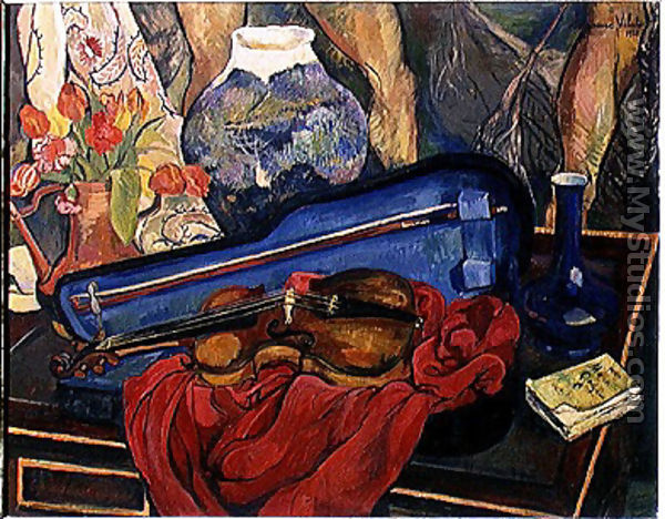 The Violin Case, 1923 - Suzanne Valadon