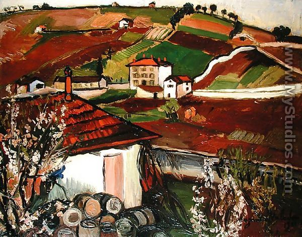 Houses in the Countryside, 1921 - Suzanne Valadon