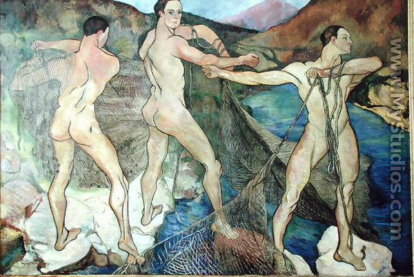 Casting the Net, 1914 - Suzanne Valadon