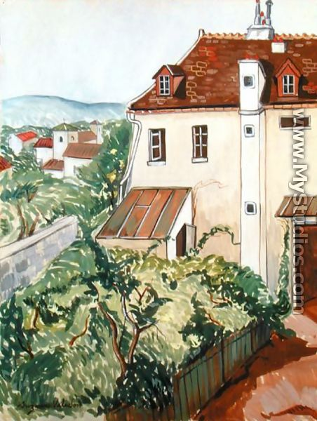 View of a Garden - Suzanne Valadon