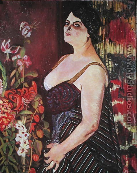 Portrait of Madame Coquiot, 1918 - Suzanne Valadon