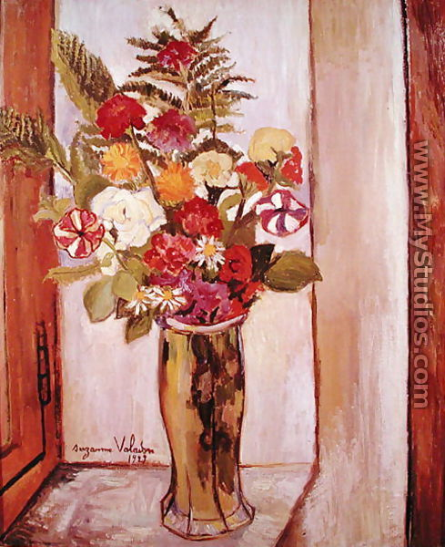 Flowers, 1929 - Suzanne Valadon