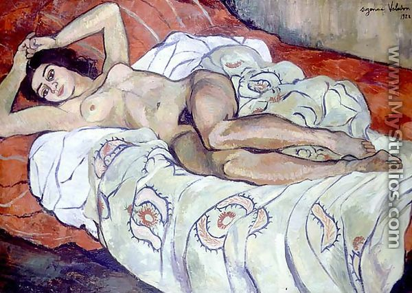 Nude Female Reclining, 1922 - Suzanne Valadon