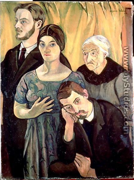 Family Group, 1912 - Suzanne Valadon