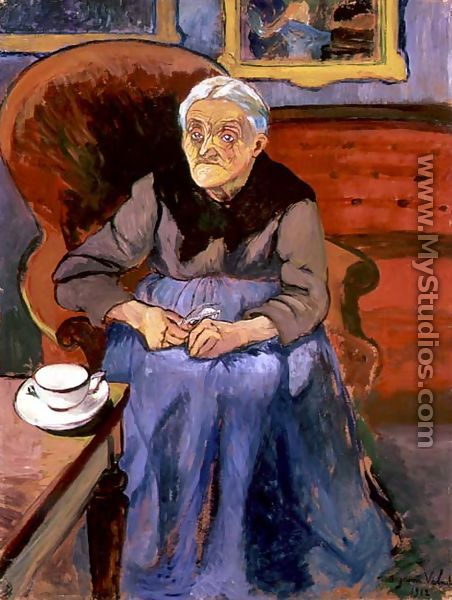 Portrait of an Old Lady, 1912 - Suzanne Valadon