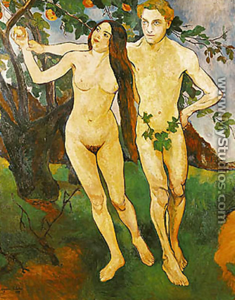 Adam and Eve, 1909 - Suzanne Valadon