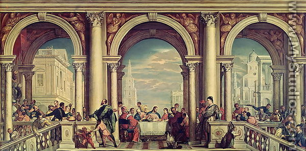 The Feast in the House of Levi by Paolo Veronese (Caliari ...