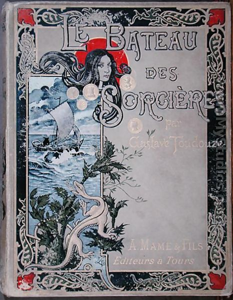front cover of le bateau des sorcieres by gustave toudouze. Black Bedroom Furniture Sets. Home Design Ideas