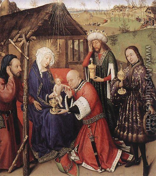 Altarpiece of the Virgin 1433-35 - Jacques Daret