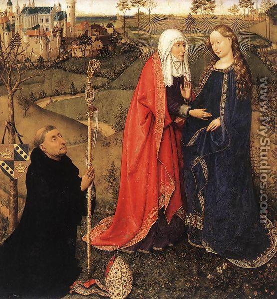 Visitation 1434-35 - Jacques Daret