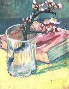 Blossoming Almond Branch In A Glass With A - Vincent Van Gogh