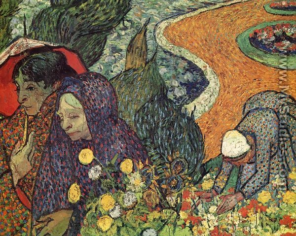 Memory Of The Garden At Etten By Vincent Van Gogh