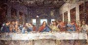 The Last Supper 1498 - Leonardo Da Vinci