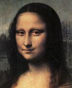 Mona Lisa  Detail - Leonardo Da Vinci