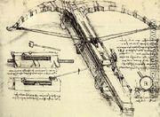 Giant Crossbow - Leonardo Da Vinci