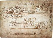 Assault Chariot With Scythes - Leonardo Da Vinci