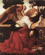 Annunciation (detail 1) 1478-82 - Leonardo Da Vinci